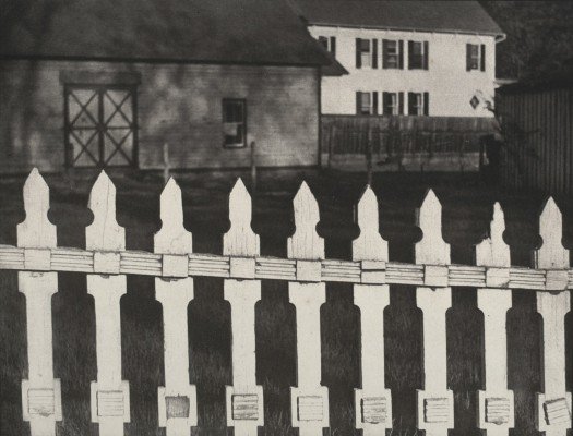Paul Strand White Fence