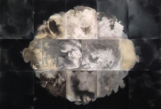 """Hope is Not a Plan. Hope is Our Plan,"" 28"" x 40"", unique gelatin silver prints, 2016, David Ondrik"