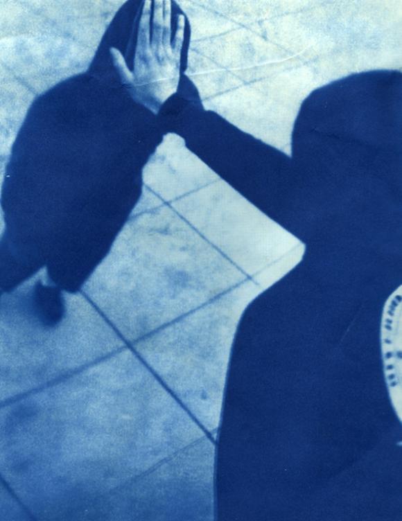 """M.Gonzales, cyanotype, 8"""" x 10"""""""