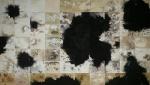 """Impermanence, unfixed gelatin silver prints, 56"""" x 100"""", 2016, David Ondrik"""