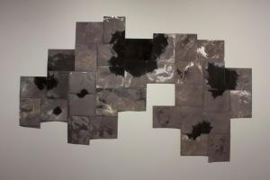 """Untitled"", unique unfixed gelatin silver prints, 54″ x 84″, 2016, David Ondrik"