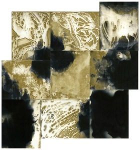 """Inheritance 7,"" unique unfixed gelatin silver prints, 30"" x 28"", 2017, David Ondrik"