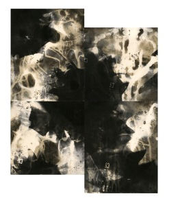 "C8, unique gelatin silver prints, 18"" x 16"", 2020"